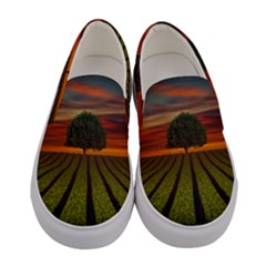 Natural Tree Women s Canvas Slip Ons