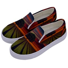 Natural Tree Kids  Canvas Slip Ons by Alisyart