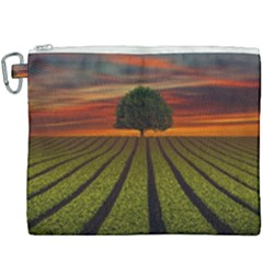 Natural Tree Canvas Cosmetic Bag (xxxl) by Alisyart