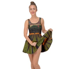 Natural Tree Inside Out Casual Dress