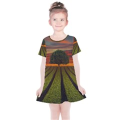 Natural Tree Kids  Simple Cotton Dress