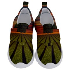 Natural Tree Velcro Strap Shoes