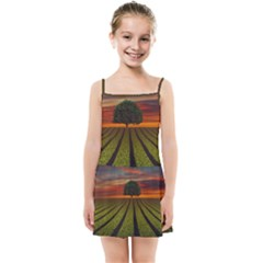 Natural Tree Kids Summer Sun Dress