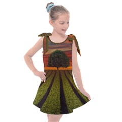 Natural Tree Kids  Tie Up Tunic Dress