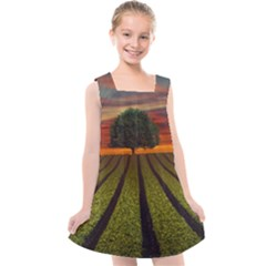 Natural Tree Kids  Cross Back Dress