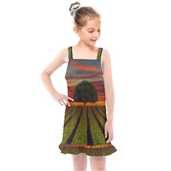 Natural Tree Kids  Overall Dress
