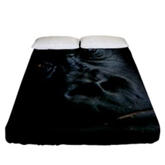 Gorilla Monkey Zoo Animal Fitted Sheet (California King Size)