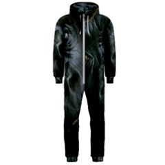 Gorilla Monkey Zoo Animal Hooded Jumpsuit (men)