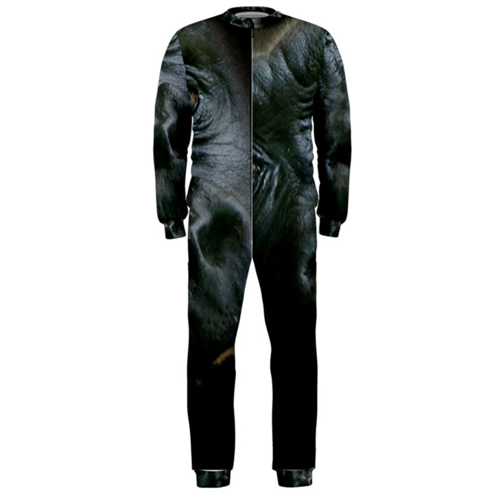 Gorilla Monkey Zoo Animal OnePiece Jumpsuit (Men)