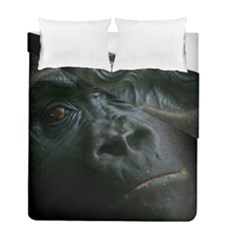 Gorilla Monkey Zoo Animal Duvet Cover Double Side (full/ Double Size)