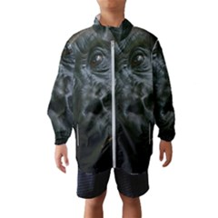 Gorilla Monkey Zoo Animal Windbreaker (kids) by Nexatart