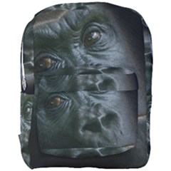 Gorilla Monkey Zoo Animal Full Print Backpack by Nexatart