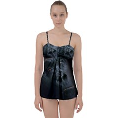 Gorilla Monkey Zoo Animal Babydoll Tankini Set