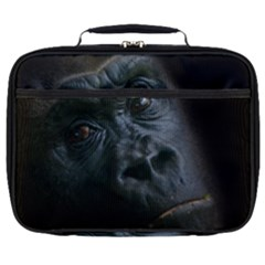 Gorilla Monkey Zoo Animal Full Print Lunch Bag by Nexatart
