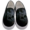 Gorilla Monkey Zoo Animal Men s Canvas Slip Ons View1