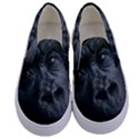 Gorilla Monkey Zoo Animal Kids  Canvas Slip Ons View1