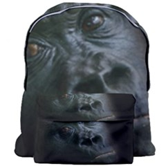 Gorilla Monkey Zoo Animal Giant Full Print Backpack by Nexatart