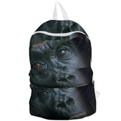 Gorilla Monkey Zoo Animal Foldable Lightweight Backpack by Nexatart