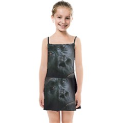 Gorilla Monkey Zoo Animal Kids Summer Sun Dress