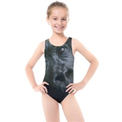 Gorilla Monkey Zoo Animal Kids  Cut-Out Back One Piece Swimsuit