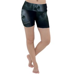 Gorilla Monkey Zoo Animal Lightweight Velour Yoga Shorts by Nexatart