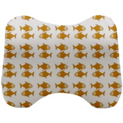 Small Fish Water Orange Head Support Cushion