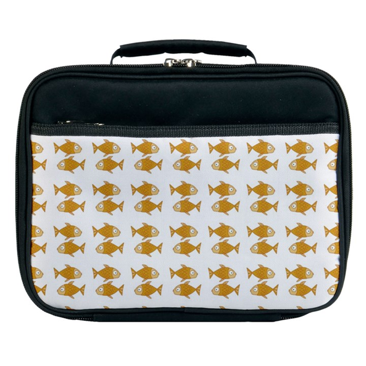 Small Fish Water Orange Lunch Bag