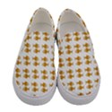 Small Fish Water Orange Women s Canvas Slip Ons View1