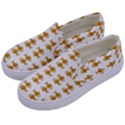 Small Fish Water Orange Kids  Canvas Slip Ons View2