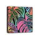 Leaves Tropical Jungle Pattern Mini Canvas 4  x 4  (Stretched) View1