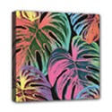 Leaves Tropical Jungle Pattern Mini Canvas 8  x 8  (Stretched) View1