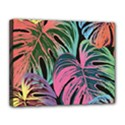 Leaves Tropical Jungle Pattern Canvas 14  x 11  (Stretched) View1