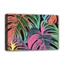 Leaves Tropical Jungle Pattern Deluxe Canvas 18  x 12  (Stretched) View1
