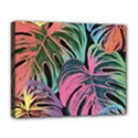Leaves Tropical Jungle Pattern Deluxe Canvas 20  x 16  (Stretched) View1