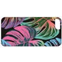 Leaves Tropical Jungle Pattern Apple iPhone 5 Classic Hardshell Case View1