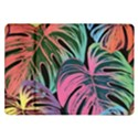 Leaves Tropical Jungle Pattern Samsung Galaxy Tab 10.1  P7500 Flip Case View1