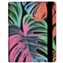 Leaves Tropical Jungle Pattern Samsung Galaxy Tab 10.1  P7500 Flip Case View3