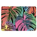 Leaves Tropical Jungle Pattern Samsung Galaxy Tab 8.9  P7300 Flip Case View1