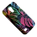 Leaves Tropical Jungle Pattern Samsung Galaxy S4 Mini (GT-I9190) Hardshell Case  View5