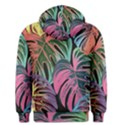 Leaves Tropical Jungle Pattern Men s Pullover Hoodie View2