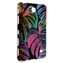 Leaves Tropical Jungle Pattern Samsung Galaxy Tab 4 (8 ) Hardshell Case  View3