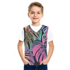 Leaves Tropical Jungle Pattern Kids  Sportswear