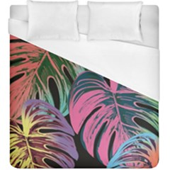 Leaves Tropical Jungle Pattern Duvet Cover (king Size)