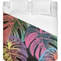 Leaves Tropical Jungle Pattern Duvet Cover (King Size) View1