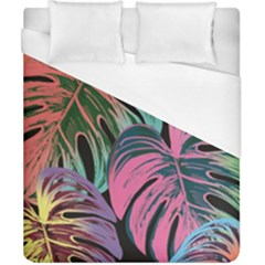 Leaves Tropical Jungle Pattern Duvet Cover (california King Size)