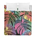 Leaves Tropical Jungle Pattern Duvet Cover Double Side (Full/ Double Size) View1