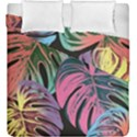 Leaves Tropical Jungle Pattern Duvet Cover Double Side (King Size) View1