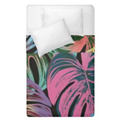 Leaves Tropical Jungle Pattern Duvet Cover Double Side (single Size)