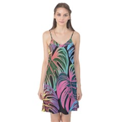 Leaves Tropical Jungle Pattern Camis Nightgown