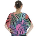 Leaves Tropical Jungle Pattern Blouse View2